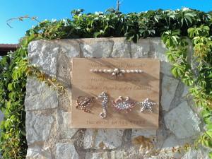Michaela Raeburn's Seashell Mosaic's aand Collages Signage