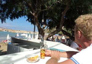 New beach bar Almyrida
