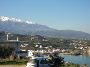 View of White Mountains