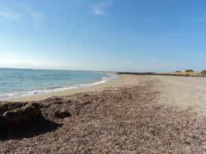 The beach at Franko Castelli