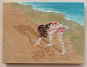 """I Love Crete"" - 30 x 40cms"