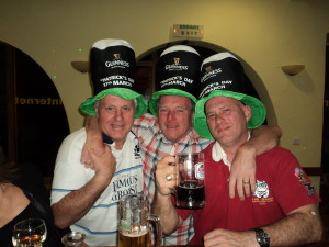 St Patrick's guys