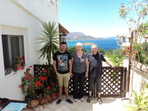 John, Sheila and Paul