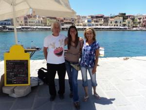 David, Yianna and I