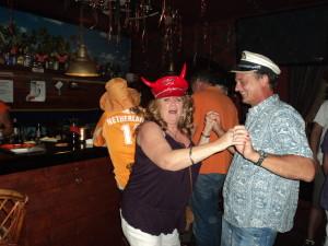 Fran & Will in Captain Jack's