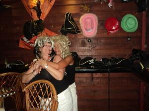 Fran's last night at Captain Jack's