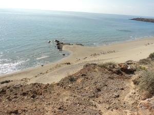 Beautiful beach on the south coast