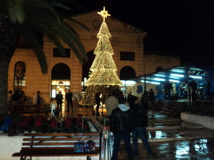 Chania Christmas tree