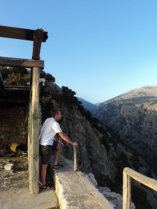 Looking down on Imbros Groge