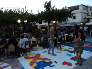 Street art in Matala