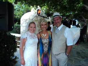 Posing with Jeff & Shanna, the happy couple