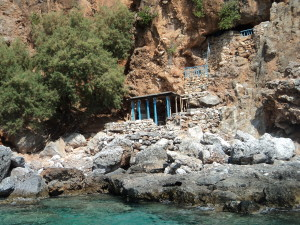 The cave that a Greek man called home for more than 20 years!