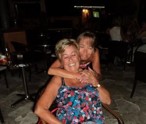 Mum and Leonie