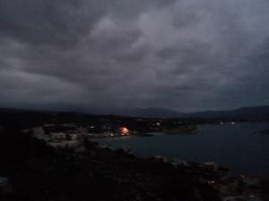 Fireworks in Almyrida!
