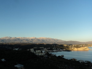 The beautiful White mountains of Crete