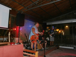 Carl Axon gig at Nikita's in Almyrida