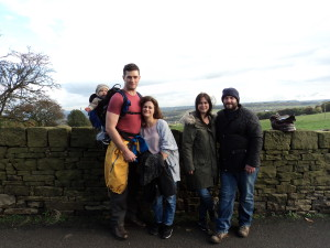 On our lovely country ramble!