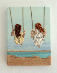 Seashell Mosaic Collage