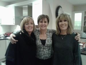 Debs, Karen and me