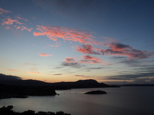 Just after Sunset over Almyrida Bay