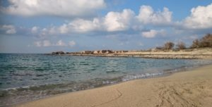 One of the beaches at Stavros