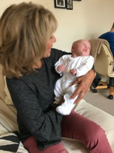 Me with cute Grandson Arthur!