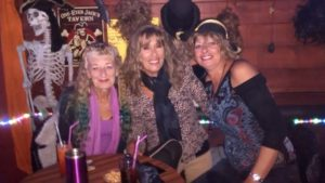 Last night before lockdown and celebrating my Birthday with Lisa & Debbie