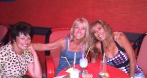 Lisa, Gail and I on a recent night out.
